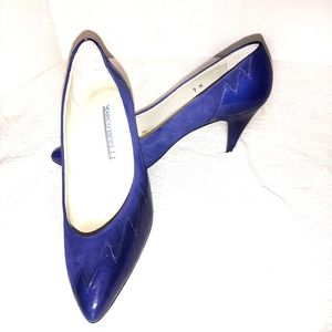 Cobalt Heels⚡Electric Blue Pumps, Like New, 8.5